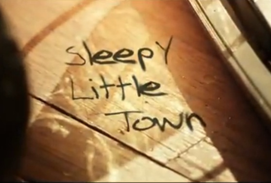 Sleepy Little Town (Lyric Video)